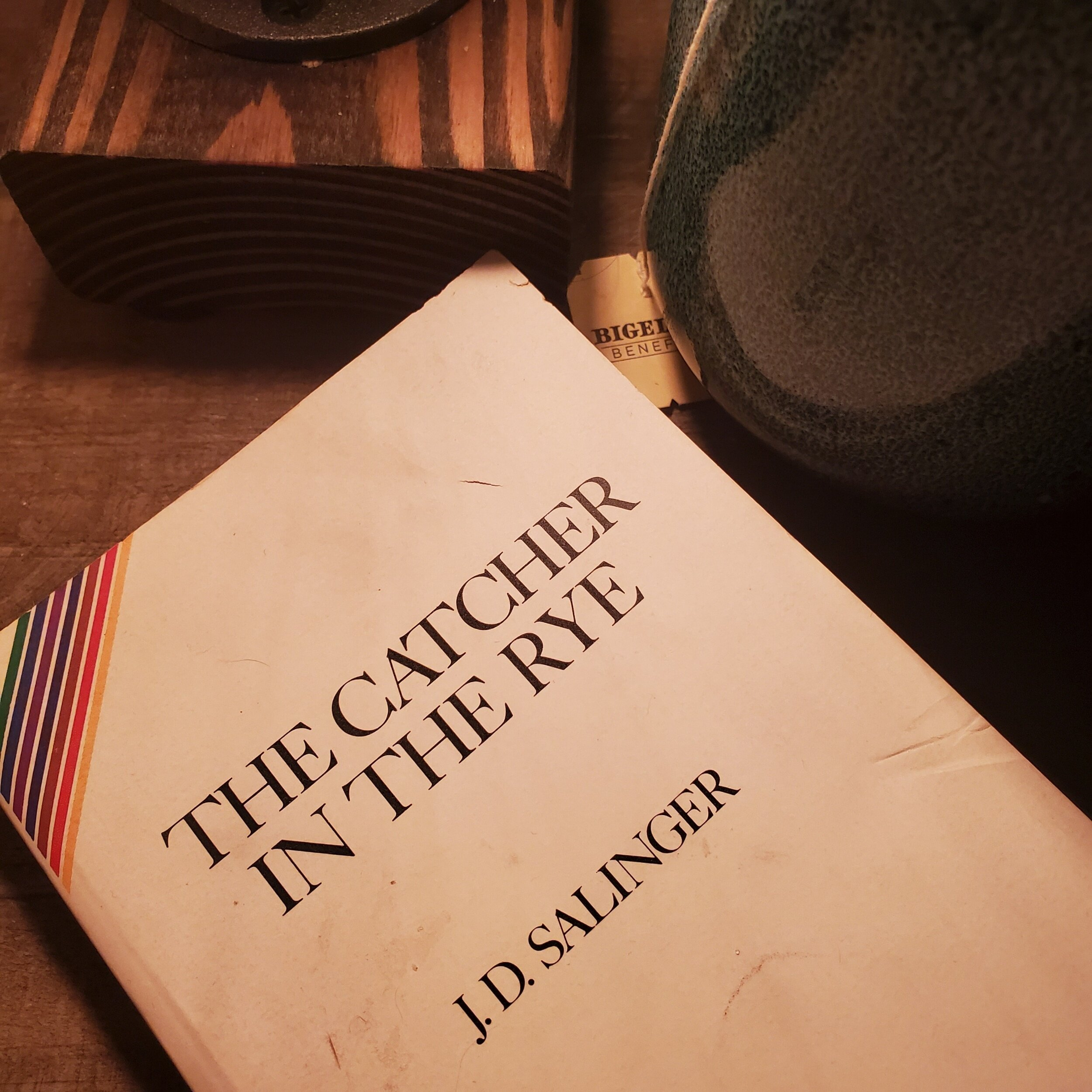 My 1991 edition of Catcher in the Rye